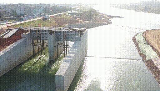 投资1.838亿元!高安锦河抬水坝工程最新进展!